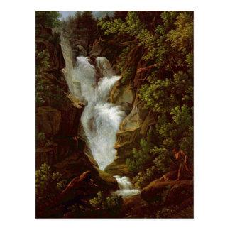 Cartão Postal Joseph Anton Koch, Wasserfall, 1796