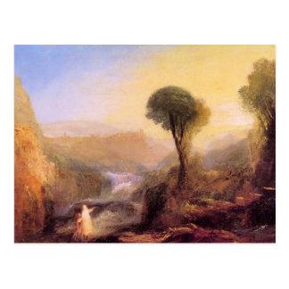 Cartão Postal Joseph Mallord Turner - Tivoli - Tobias e o En