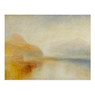 Cartão Postal Joseph Mallord William Turner - cais de Inverary