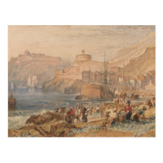 Cartão Postal Joseph Mallord William Turner - St. Mawes, Cornwal