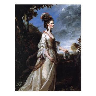 Cartão Postal Joshua Reynolds Jane, condessa de Harrington