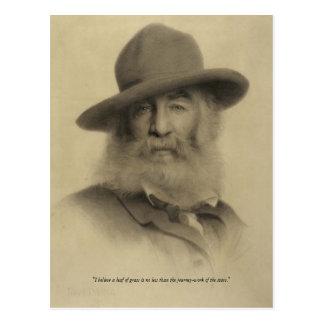Cartão Postal ❝Journey-work de Walt Whitman do Stars❞