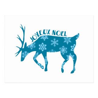 Cartão Postal Joyeux Noel