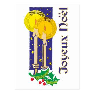 Cartão Postal Joyeux Noël