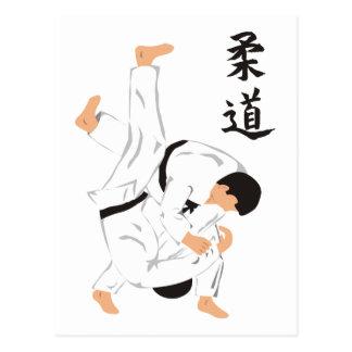 Cartão Postal Judo