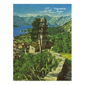 Cartão Postal Jugoslávia, Kotor