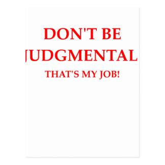 Cartão Postal juiz