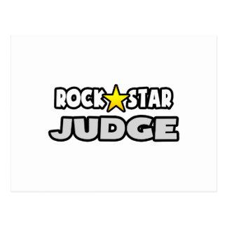 Cartão Postal Juiz da estrela do rock
