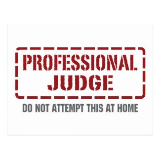 Cartão Postal Juiz profissional