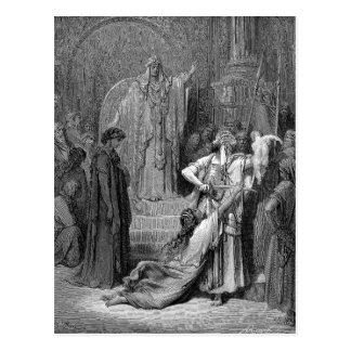 Cartão Postal Julgamento de Solomon
