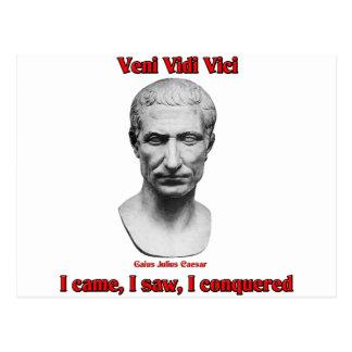 Cartão Postal Júlio César