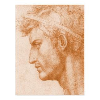 Cartão Postal Júlio César por Andrea del Sarto
