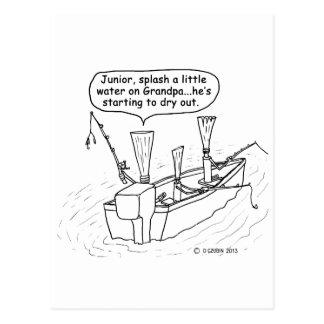 Cartão Postal Juncos da pesca