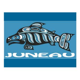 Cartão Postal Juneau Alaska