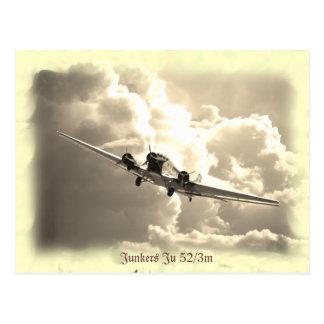 Cartão Postal Junkers Ju 52/3m