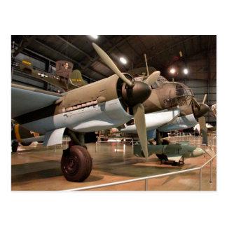 Cartão Postal Junkers no museu