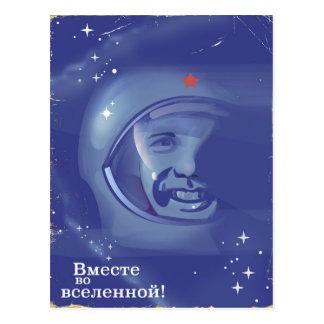 Cartão Postal Junto no universo!