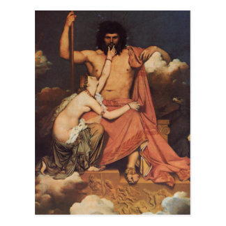 Cartão Postal Jupiter e Thetis