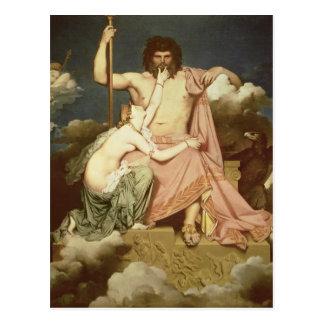 Cartão Postal Jupiter e Thetis, 1811