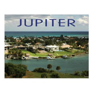 Cartão Postal Jupiter, foto cénico de Florida