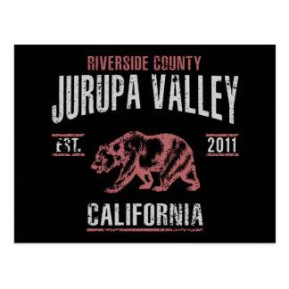 Cartão Postal Jurupa Valley