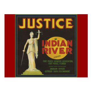 Cartão Postal Justiça