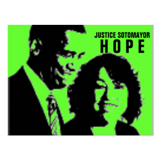 Cartão Postal Justiça Sonia Sotomayor
