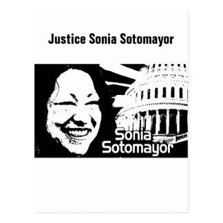 Cartão Postal Justiça Sotomayor