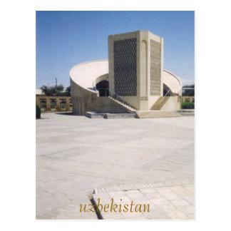 Cartão Postal k-2, uzbekistan
