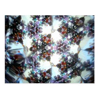 Cartão Postal Kaleidescope Bejeweled 37