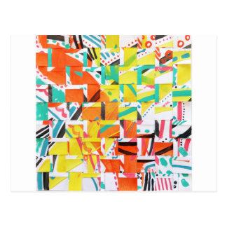 Cartão Postal kaleidoscopelarge