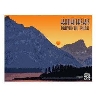 Cartão Postal Kananaskis, Alberta. Canadá