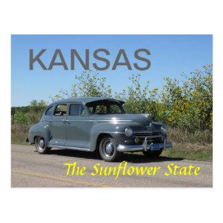 Cartão Postal Kansas
