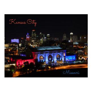 Cartão Postal Kansas City, Missouri, estação da união