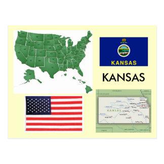 Cartão Postal Kansas, EUA