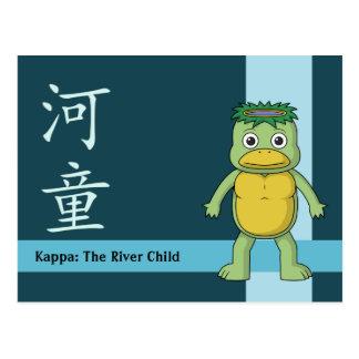 Cartão Postal Kappa de Yokai (Imp do rio)
