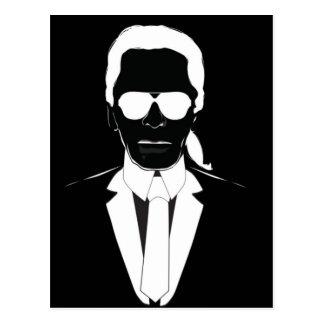 Cartão Postal Karl Lagerfeld