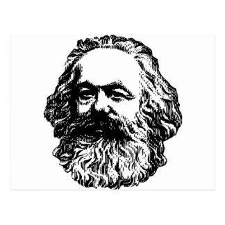 Cartão Postal Karl Marx - comunismo