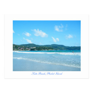 Cartão Postal kata, praia de Kata, ilha de Phuket