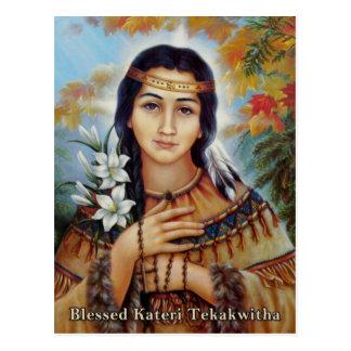Cartão Postal Kateri abençoado Tekakwitha
