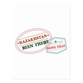 Cartão Postal Kazakhstan feito lá isso