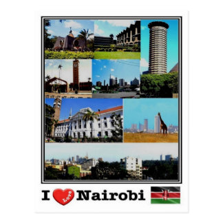 Cartão Postal KE Kenia - Nairobi -