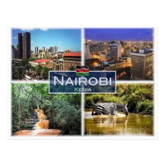 Cartão Postal KE Kenya - Nairobi -