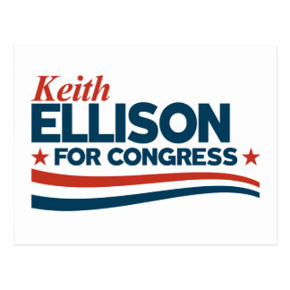 Cartão Postal Keith Ellison