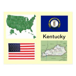 Cartão Postal Kentucky EUA