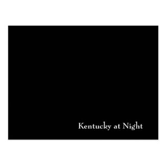 Cartão Postal Kentucky na noite