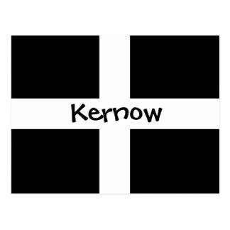 Cartão Postal Kernow - Cornualha