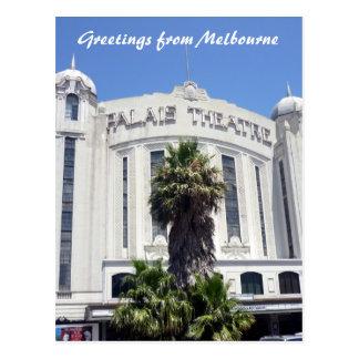 Cartão Postal kilda da rua dos palais