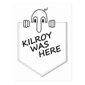 Cartão Postal Kilroy