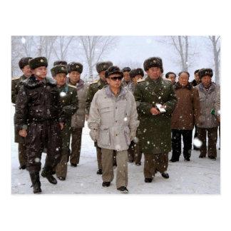 Cartão Postal Kim Jong-il, Coreia do Norte